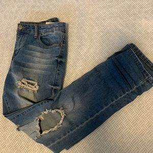 Bluenotes High Waisted Ripped Jeans